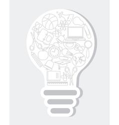 Icons school vector image vector image