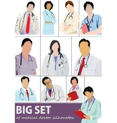 Doctor set vector