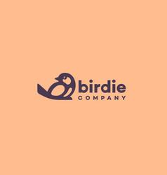 Birdie logo vector