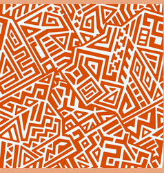 creative geometric seamless pattern vector image