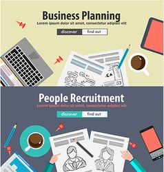 Design concepts for business solution vector