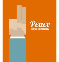 hands desing vector image