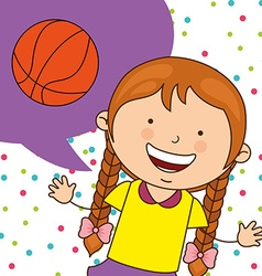 Kids sports vector
