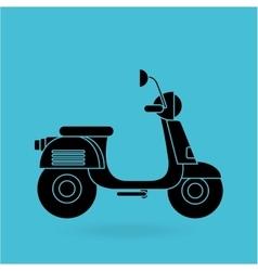 Motorcycle icon design vector