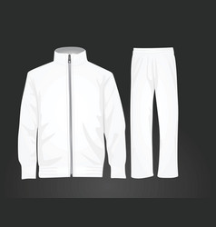 tracksuit vector image