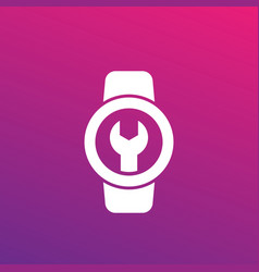 watch repair icon vector image