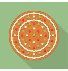 Gingerbread Circle vector image vector image