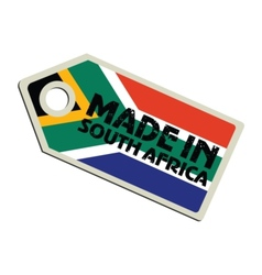 Made in South Africa vector image vector image