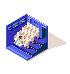 Different couples isometric composition vector