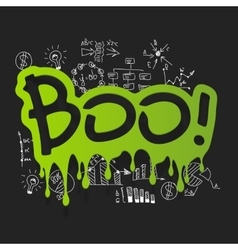 Drawing business formulas boo vector