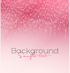 pink glitter light vector image