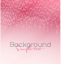Pink glitter light vector