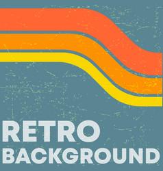 Retro grunge texture background vector