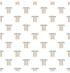 Swedish wall pattern cartoon style vector