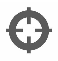 target focus web icon vector image