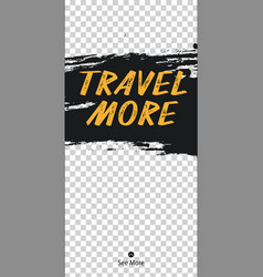 Travel stories for instagram pack for creature vector