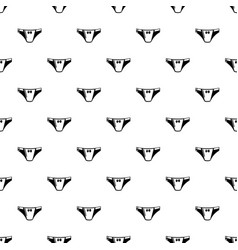 underpants girl icon simple black style vector image