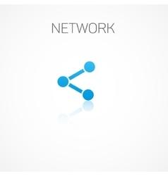 Network vector image vector image