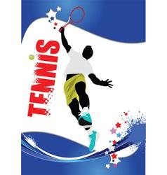 Tennis poster vector
