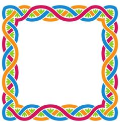 Abstract Celtic Weaving Framework vector image