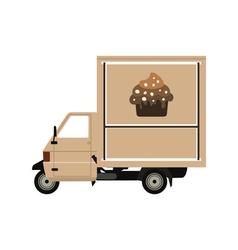 coffee car2 vector image
