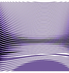 White-purple ochronie strip with perspective vector image