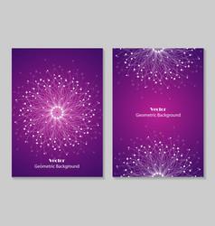 modern brochure cover design vector image vector image