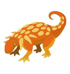 evoplocephalus icon cartoon style vector image