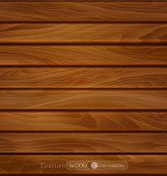 wood background of brown wooden planks vector image vector image