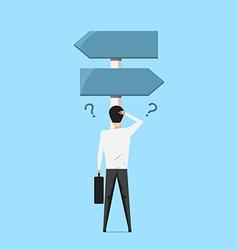 Business choice concept vector