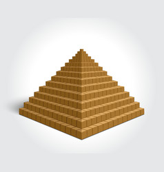 Egyptian Pyramid vector
