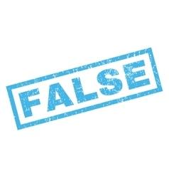 False Rubber Stamp vector