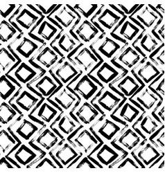 geometric hand drawn seamless pattern vector image