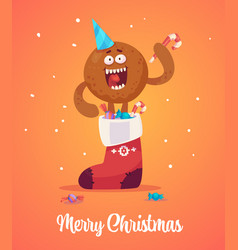 happy new year greeting cards design vector image