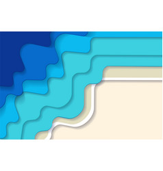 horizontal abstract blue turquoise blue maldivian vector image