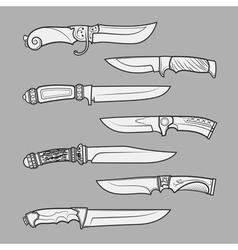 Knives1 vector