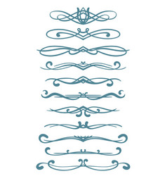 Page decoration vector