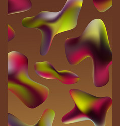 smartphone design abstract background vector image