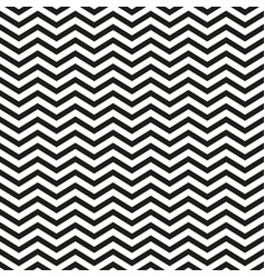 zigzag pattern with black lines stylish vector image