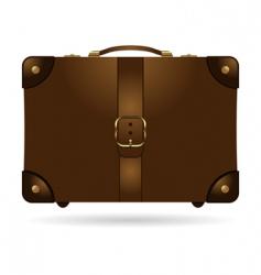 travel bag vector image vector image