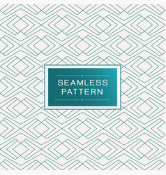 seamless pattern with simple line geometric vector image