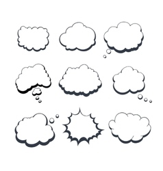 Comic Dream Bubbles vector