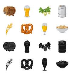 Design of pub and bar symbol set of pub vector