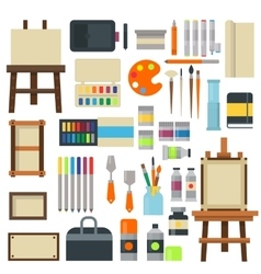 Set of art symbols vector image