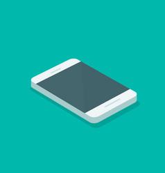 smartphone isometric mobile vector image