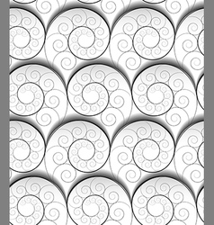spiral pattern vector image
