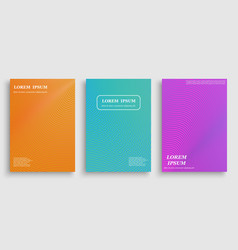 template for cover design vector image