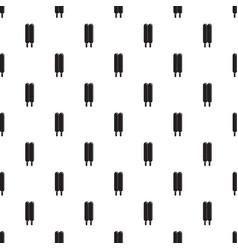 two sticks ice cream pattern seamless vector image
