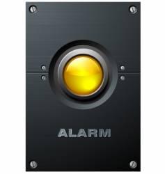 yellow button vector image vector image