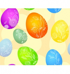 eggs pattern vector image